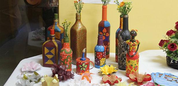 Encontro com artesões e artistas locais