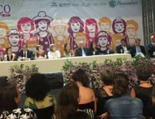 Prefeitura de Pombos marca presença na comemoração de 10 anos da Secretária da Mulher do Estado