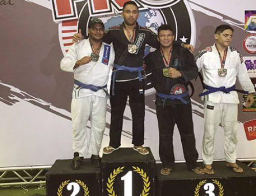 Atleta do município Daniel Melo se destaca em campeonato de Jiu Jitsu