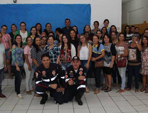 Prefeitura realiza aula atividade de Primeiros Socorros