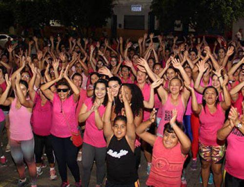 Aulão da Academia da Cidade em prol da campanha do Outubro Rosa