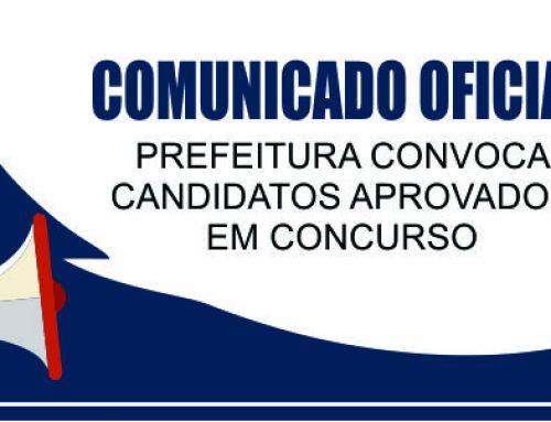 PREFEITURA CONVOCA CANDIDATOS APROVADOS EM CONCURSO