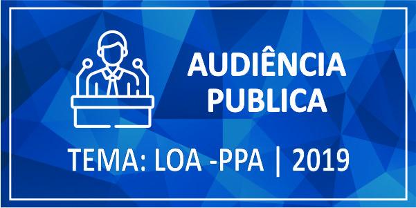 OFICIO CIRCULAR 004/2018-GP- Prefeitura convida a população para Audiência Pública – LOA 2019