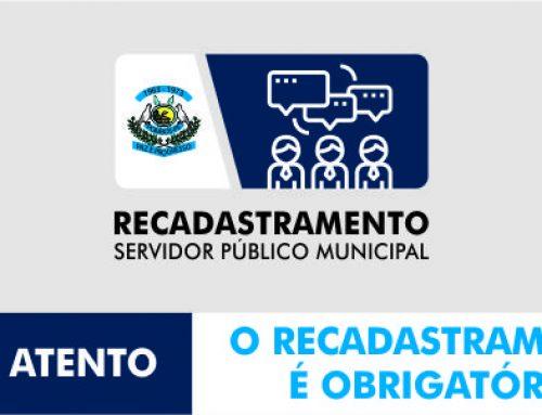PREFEITURA DE POMBOS CONVOCA SERVIDORES FALTOSOS PARA RECADASTRAMENTO