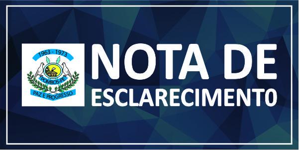 NOTA DE ESCLARECIMENTO II